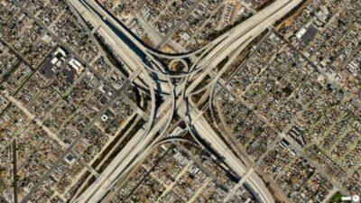 洛杉矶有世界上结构最复杂的立交桥-美国精品资讯