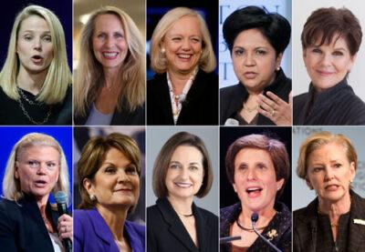 全美前十大高薪公司女高管排名