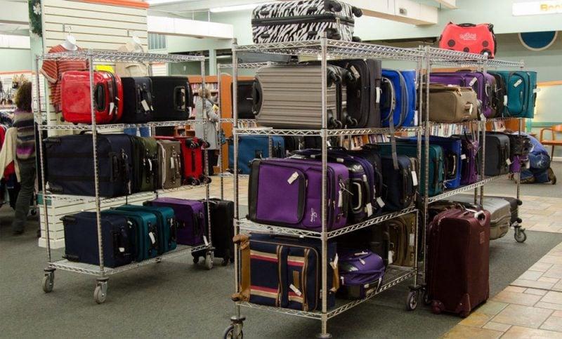 美国丢失的飞机行李都去了这家商店……