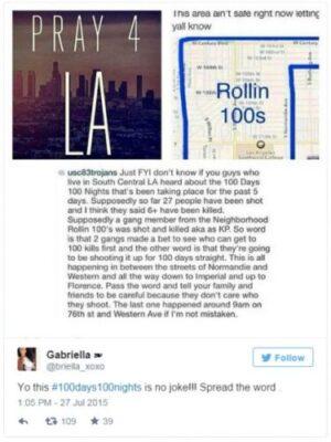 LA警方调查100天杀100人帮派传言-美国精品资讯