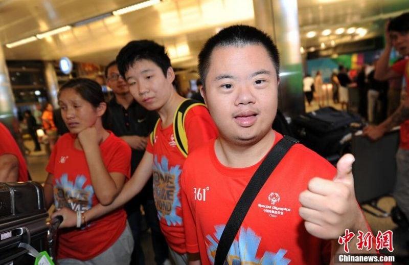 洛杉矶特奥会:中国代表团冰火两重天