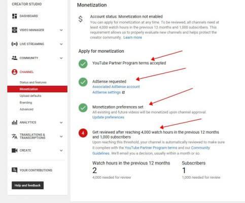 Youtube 怎么赚钱?条件和具体步骤如下