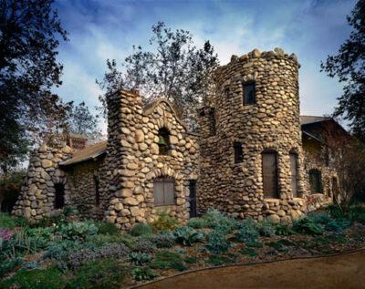 洛杉矶超神秘的石头别墅 免费哦