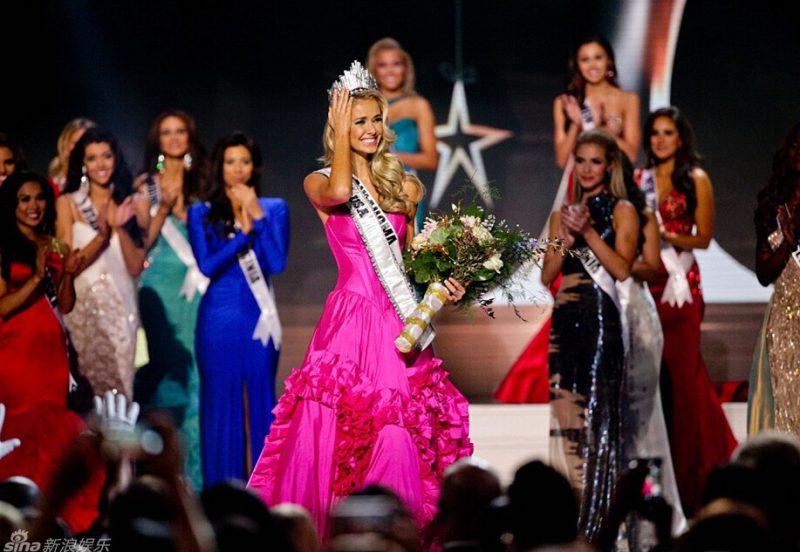 2015美国小姐新鲜出炉 冠军标致酷似芭比