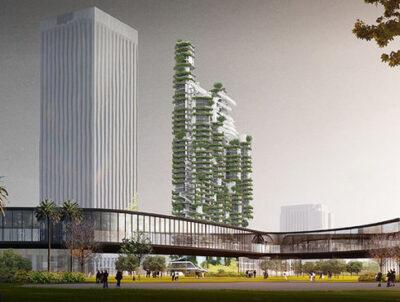 中国建筑师把山水城市理念搬去洛杉矶