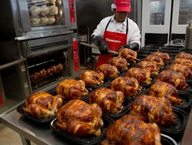$4.99烤鸡一年卖8千万只,Costco要自己开养鸡场